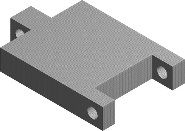 Создание декартовой конечно-элементной сетки на исходной детали