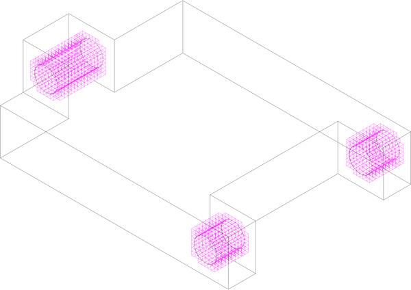 Выбор областей детали, не подлежащие оптимизации формы